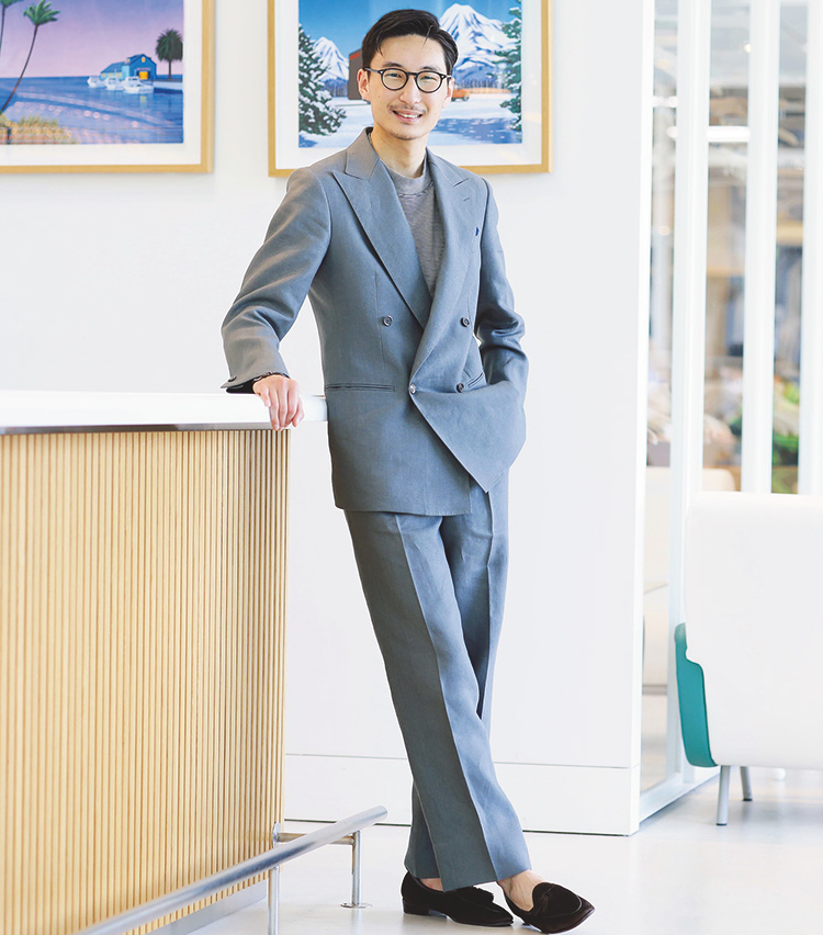 Suits You! of the month_阿由葉 銀河さん3