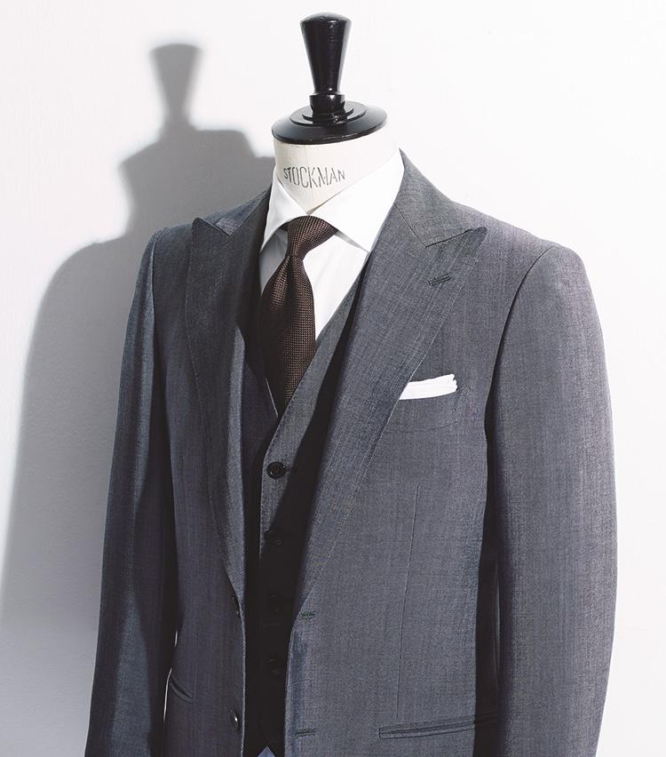 夏用スーツ、差がつく選択は? モヘアのエレガンスをまとうべし