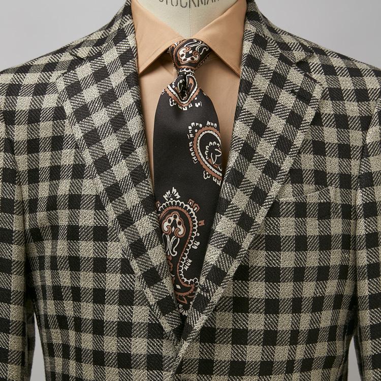 柄ジャケット×柄ネクタイの上手な着こなし方とは?【1分で出来る胸元お洒落】