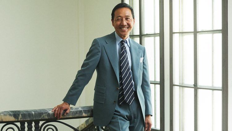 鴨志田さんが表現する、'80年代NYトラッド的スーツスタイルとは?【Pitti 100】