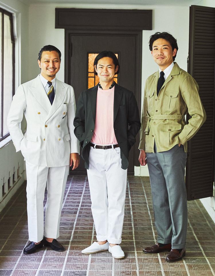 田辺さん、谷口さん、山浦さん