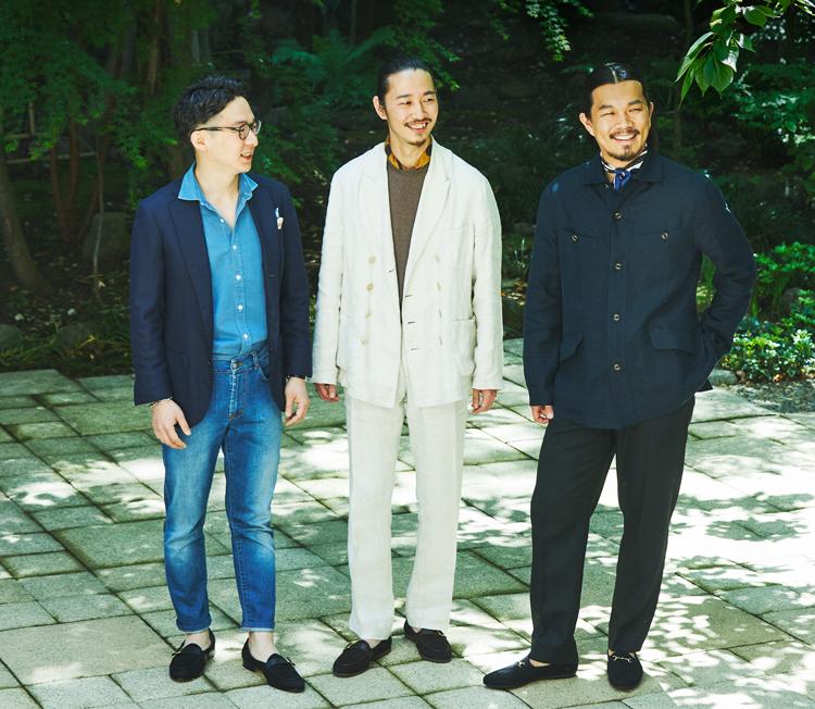 内田さん、吉原さん、大橋さん