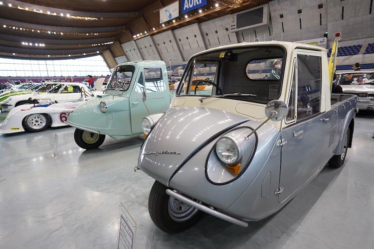 <p>1959年に登場した軽三輪トラックのK360。こちらの車両は「審査員特別賞」を受賞。</p>
