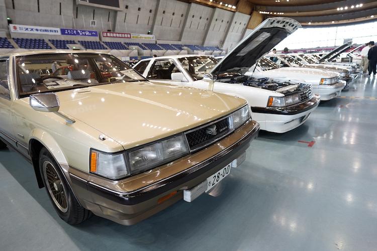 <p>ハイソカーの元祖、トヨタ ソアラも並んだ。こちらは「abn長野朝日放送賞」を受賞した車両。</p>