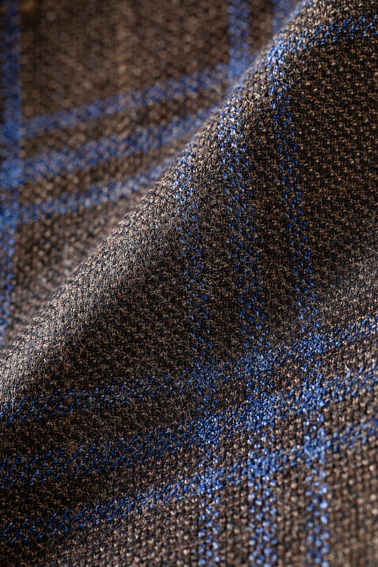 <p>One of Brioni's luxurious fabrics, selected from an extensive archive.</p>