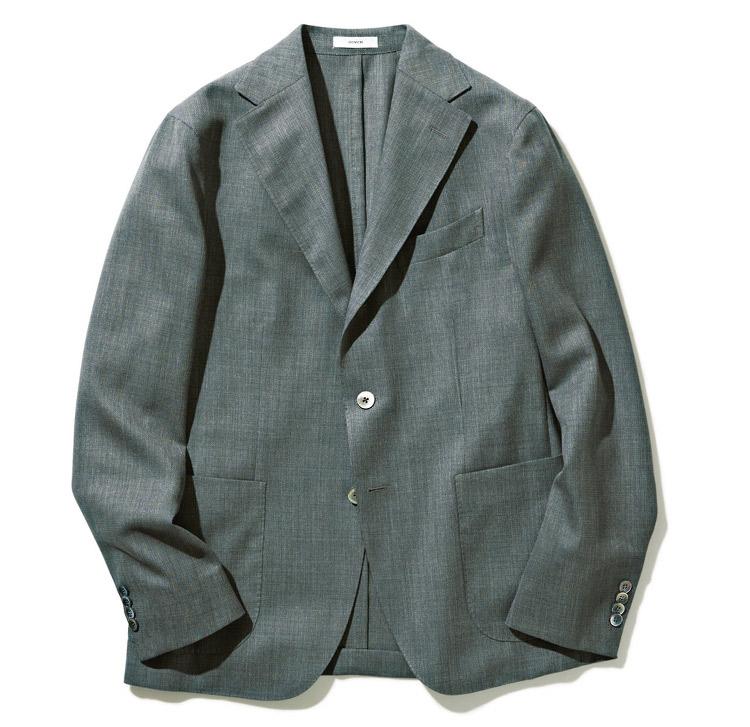 ボリオリのウールホップサックDOVERジャケット