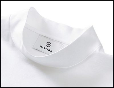 リヴォラのエクストラコットンモックネックTシャツ