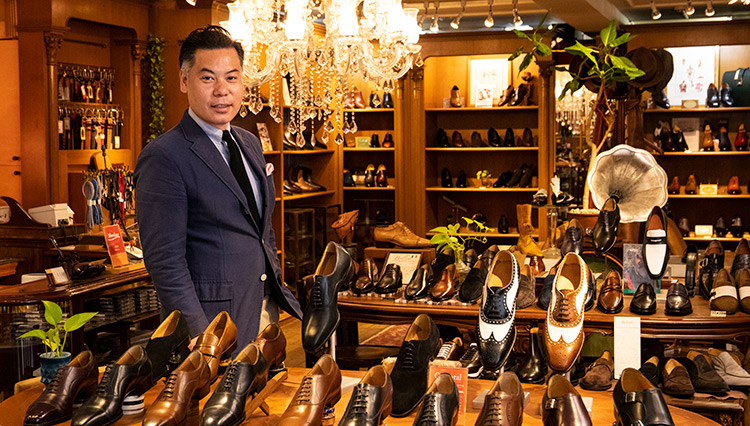 美しくもあり、快適な履き心地の既製靴「オリエンタル」を知っているか?