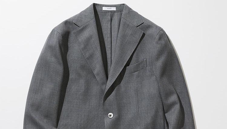 ボリオリのウールホップサック DOVER ジャケット