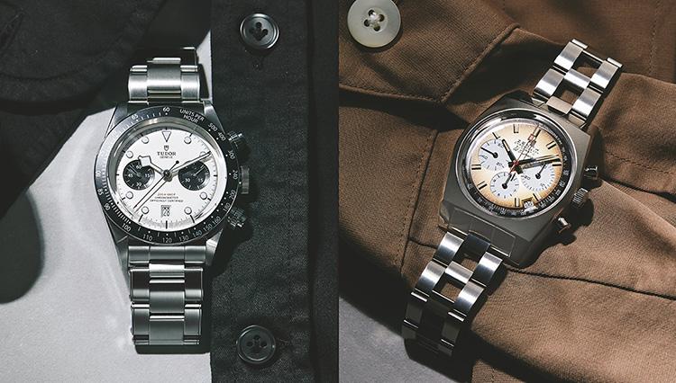 チューダーとゼニス。名門時計ブランド新作クロノの出来は?