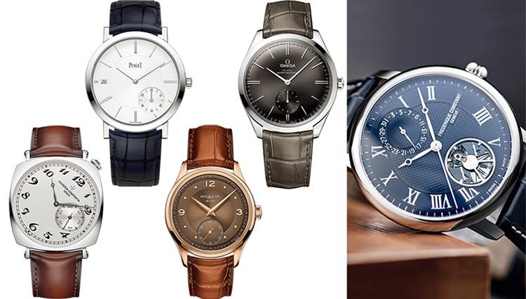 「クラシックな新作時計」を人気5ブランドから集めた!