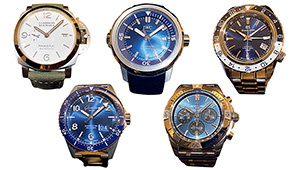 日本橋三越本店で「百貨店バイヤー注目の新作時計」5本を腕に乗せて比べた!