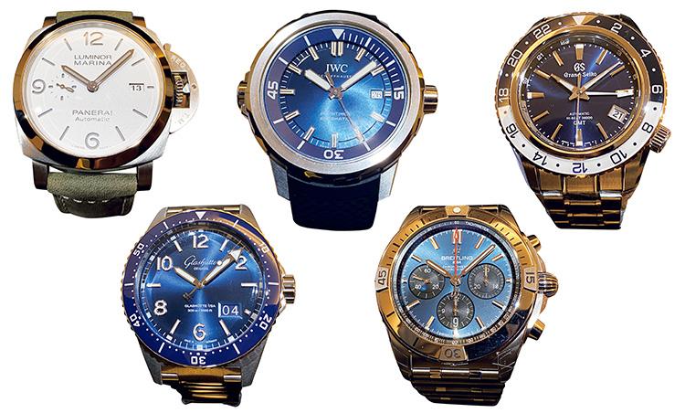 2021年「買いの時計」を腕に乗せ比べ