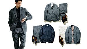今さら聞けない!「スーツ」と「セットアップ」は何が違うの?