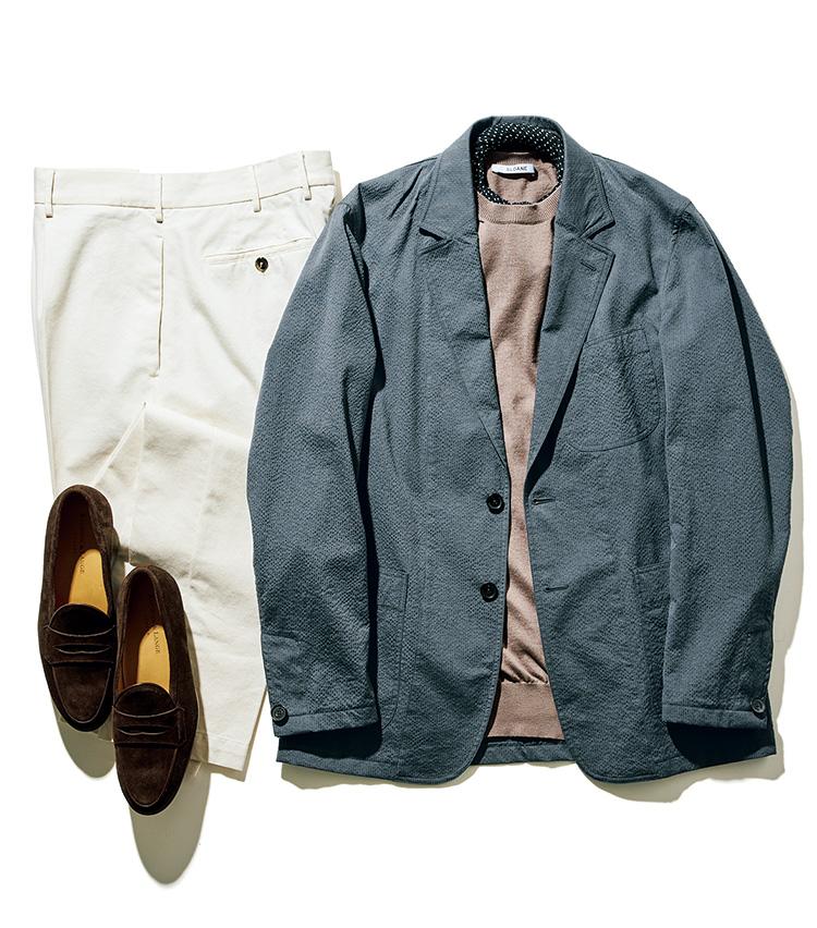 「スーツ」と「セットアップ」の違い_ジャケット単品