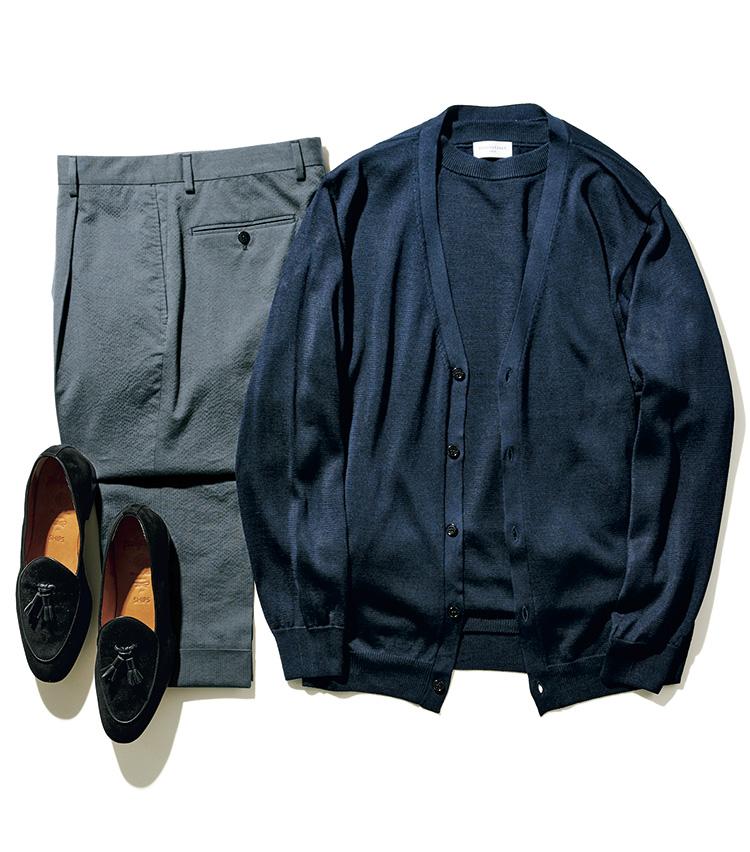 「スーツ」と「セットアップ」の違い_パンツ単品