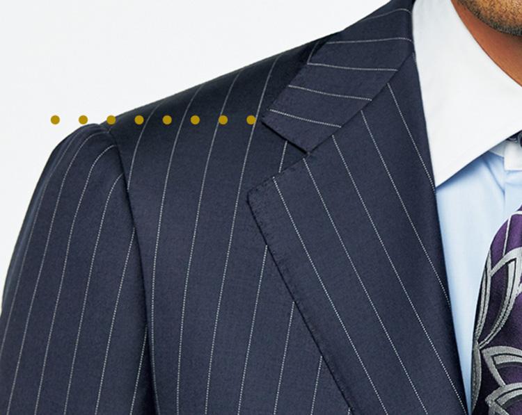 時代で変わるスーツのジャストフィット_ゴージ位置の基本