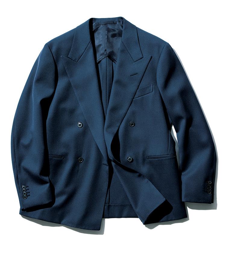 ダブルのジャケットはカタ苦しく見える_ジャケット