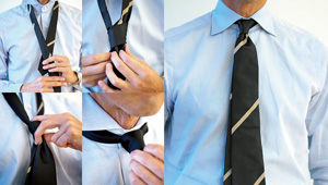 ネクタイのディンプルをきれいに入れるコツは?【手順で解説】