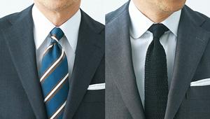センスよく見えるネクタイの結び方は?【大人のお洒落100問100答】