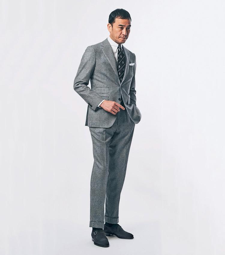 足元が貴方の印象を左右する_with Suit