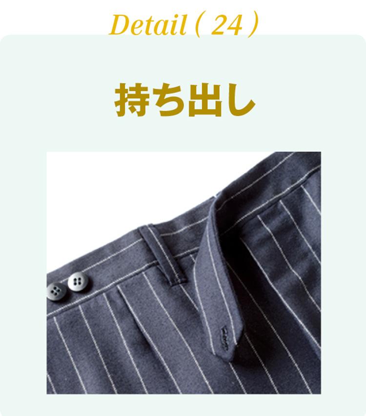 <p><b>持ち出し</b><br /> パンツの前開きの部分から伸びている、重ね部分のことを指す。「天狗」、「鳥」、「棒」など、様々な形がある。</p>