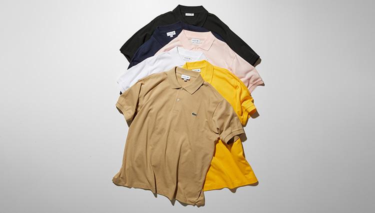 ラコステの大定番ポロシャツ「L.12.12」は豊富なカラーバリエーションも魅力!
