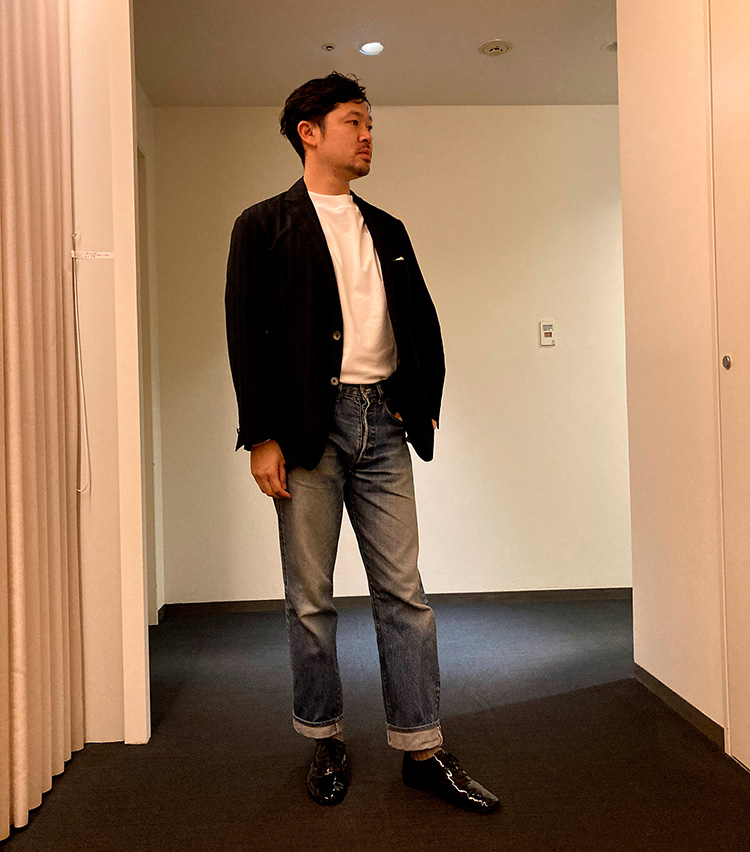 洋服のプロが辿り着いたマイ・ベスト白T_スリードッツ 大畑広志さん
