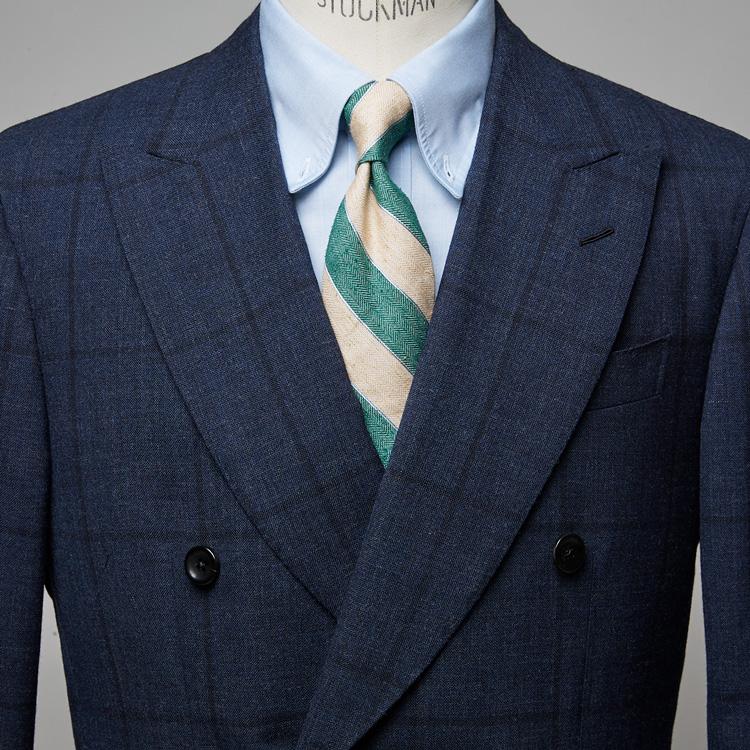 清涼感がグッと増す、夏素材のネクタイとは?【1分で出来る胸元お洒落】