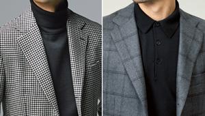 ジャケットには「ニット」を合わせると上品に【ビジネスの装いルール完全BOOK】