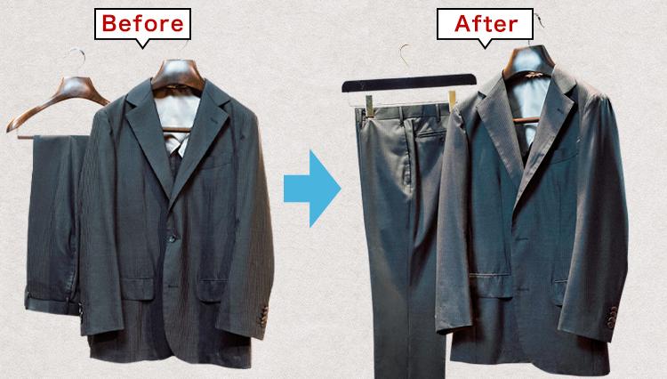 型崩れしてしまったスーツを自宅のアイロンで復活させるには?【家庭の衣学】