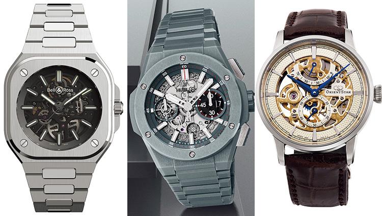機械式時計の精緻さを「スケルトンダイヤル」の新作ウォッチで味わう