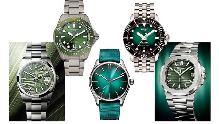 お洒落な人に「文字盤がグリーンの時計」が支持される理由