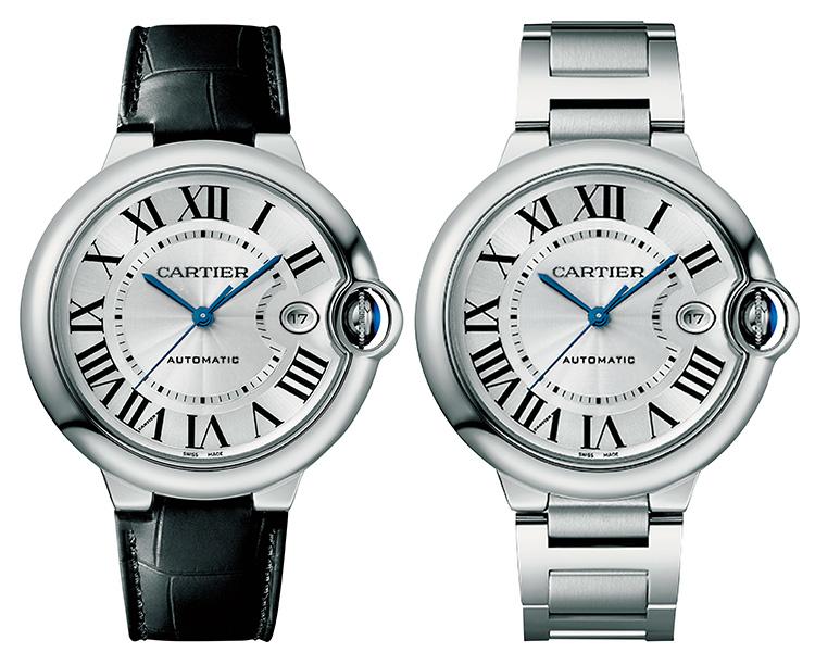 印象を変えるチェンジャブルストラップ時計 カルティエ