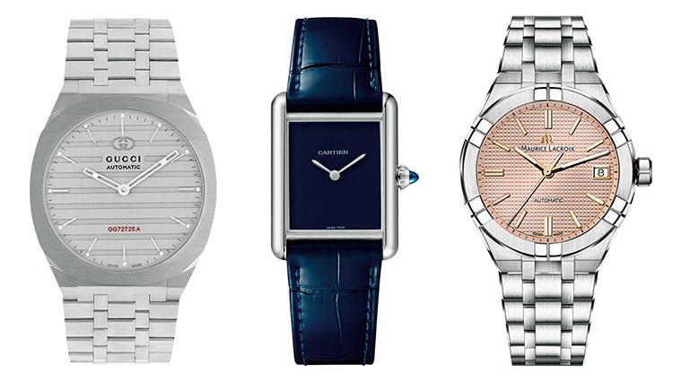 1970年代テイストの新作時計がカルティエやグッチから続々と登場している!