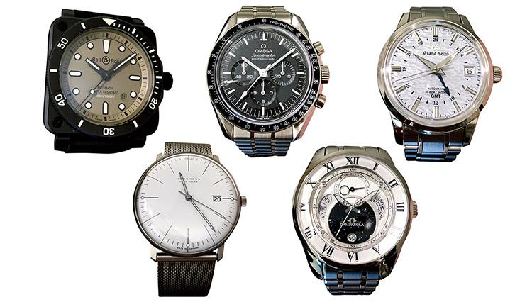 日本橋「タカシマヤウォッチメゾン」が注目する人気ブランドの腕時計5本を試着してみた