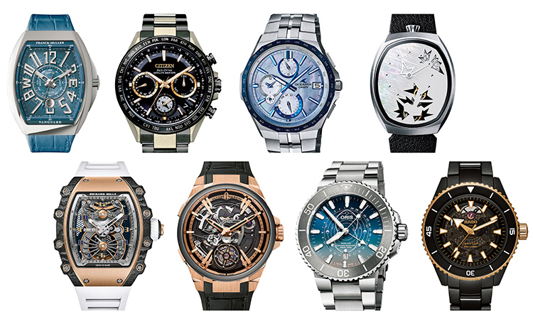 機能に、デザインに一芸に秀でたユニークピース時計