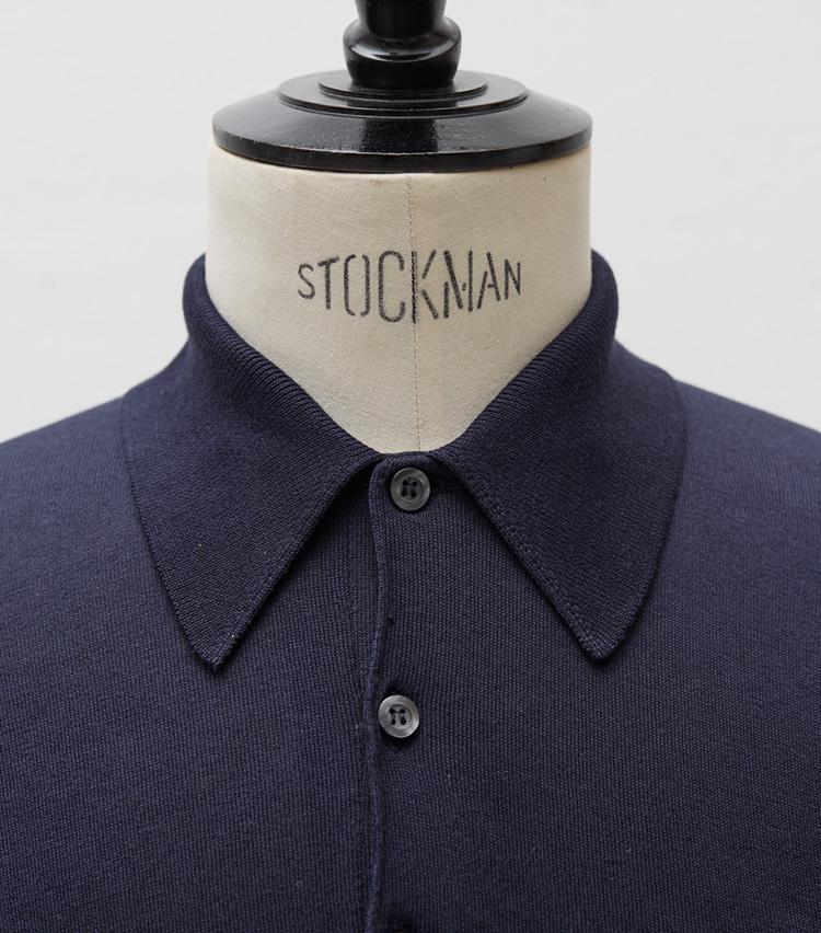 ポロシャツの2大名作_ジョン スメドレー_Vゾーン