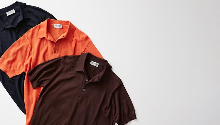 ジョン スメドレーのニットポロに「襟がきれいに立つ」モデルがあるの、知ってました?