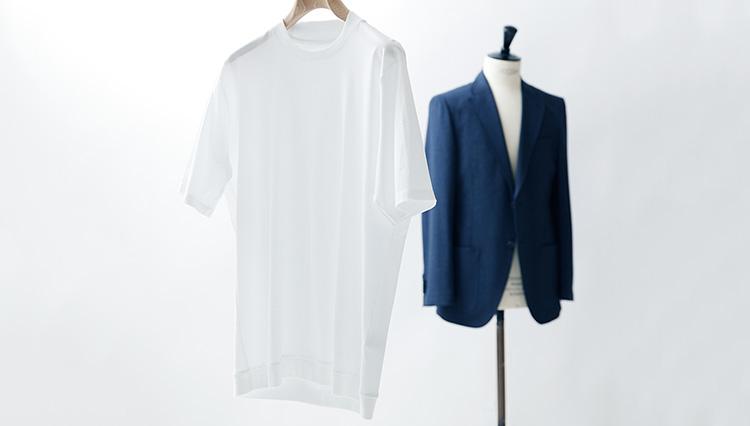仕立ても素材も上質なテーラーブランドの「Tシャツ」3選
