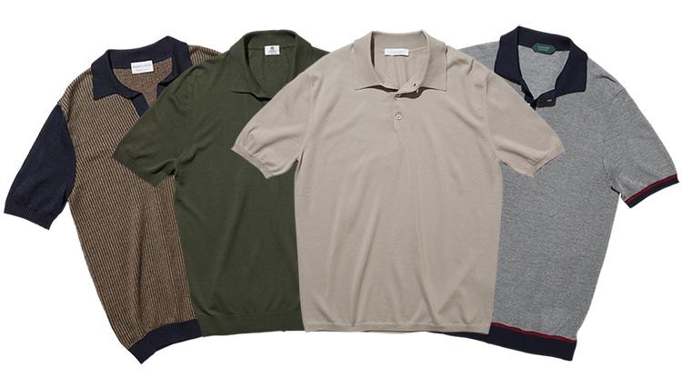 【これぞ大人のポロシャツ】イタリアンブランドのニットポロ4選
