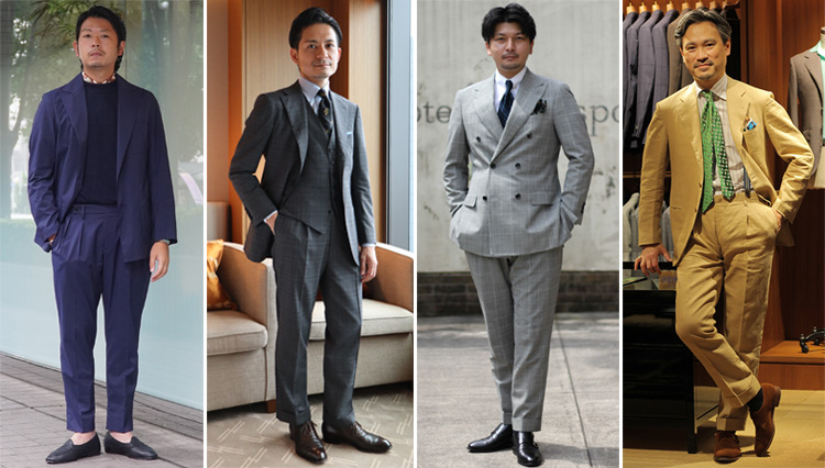 【Suits You! of the month】今こそスーツを着こなす男がカッコいい!