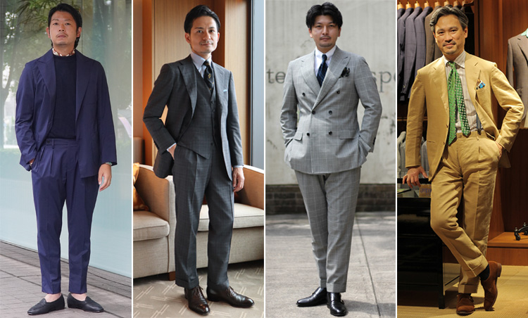 Suits You! of the month vol.2_4人のコーデ