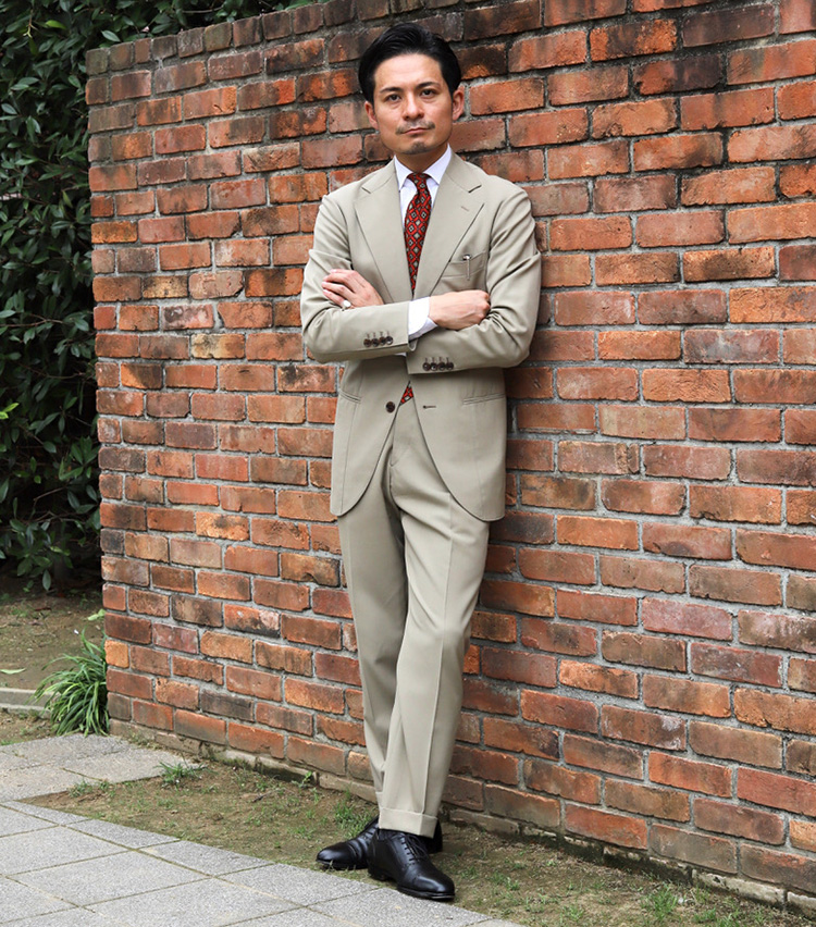 Suits You! of the month vol.2_齋藤 力さん