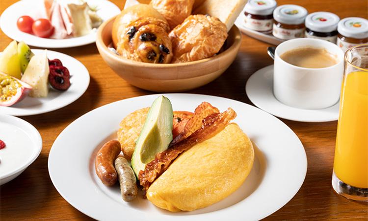 グランハイアット東京の朝食セット