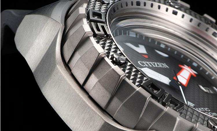 CITIZEN(シチズン)_シチズン プロマスター メカニカル ダイバー200m_驚くほど軽く硬いデュラテクト加工を施したスーパーチタニウムTM