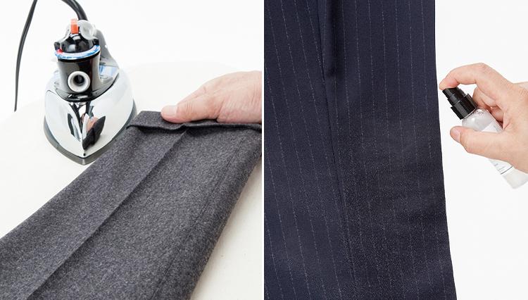 【これなら簡単】スーツのパンツを美しく保つメンテナンスのコツとは?