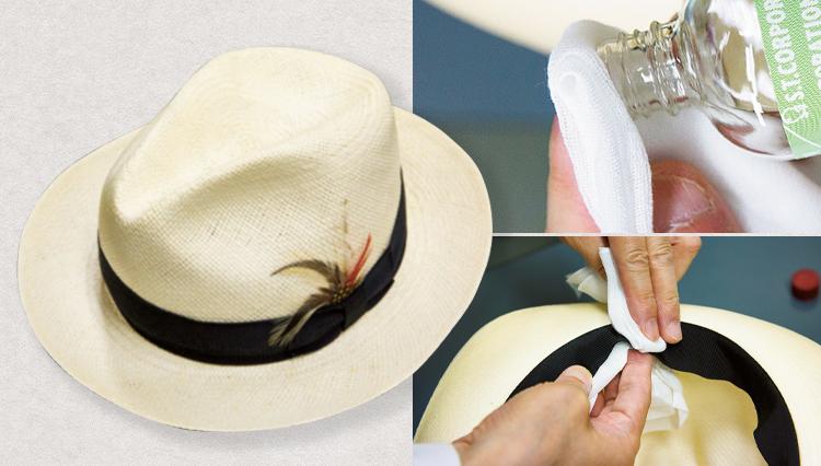 紳士帽の汗対策や型崩れ、メンテナンスの方法は?【家庭の衣学】