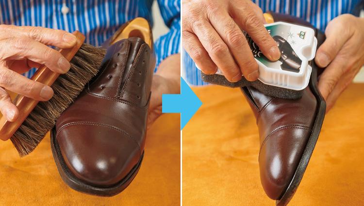 ずぼらさん必見。時間がない時の革靴ケアのコツ【家庭の衣学】