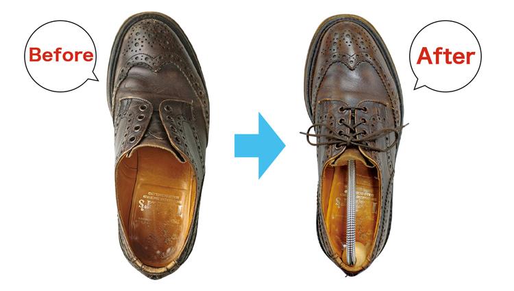 靴メンテ完璧編